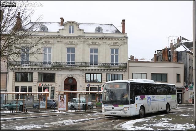 Yutong ICe 12 – Perrin (RGO Mobilités, Réseau Grand Ouest) / Aléop – Pays de la Loire n°14008