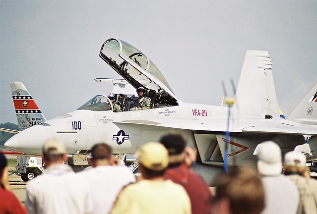 F-18F VFA-211 CHECKMATES NAS OCEANA