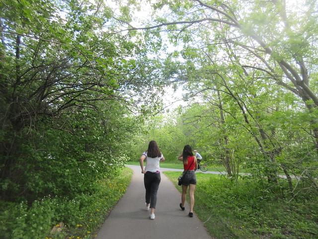 Walking fast,..Trying again,