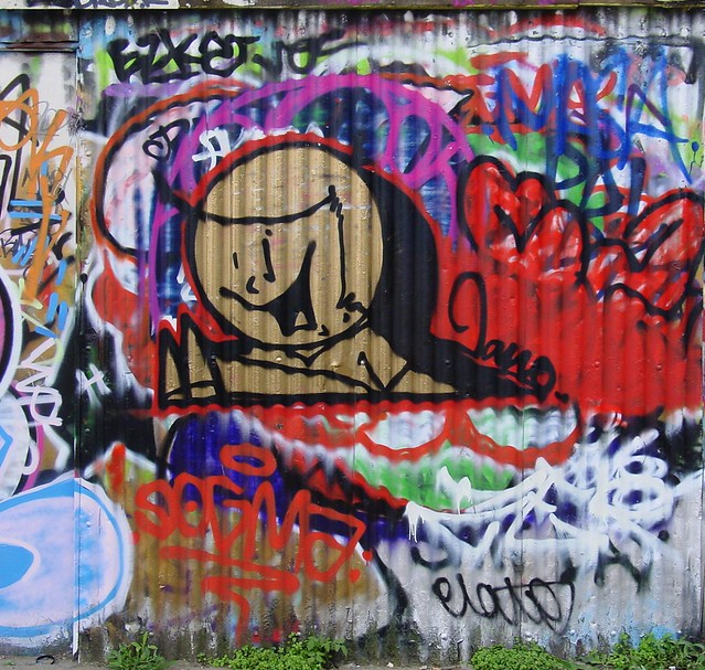 The Boy - Jano, Sclater St 2009