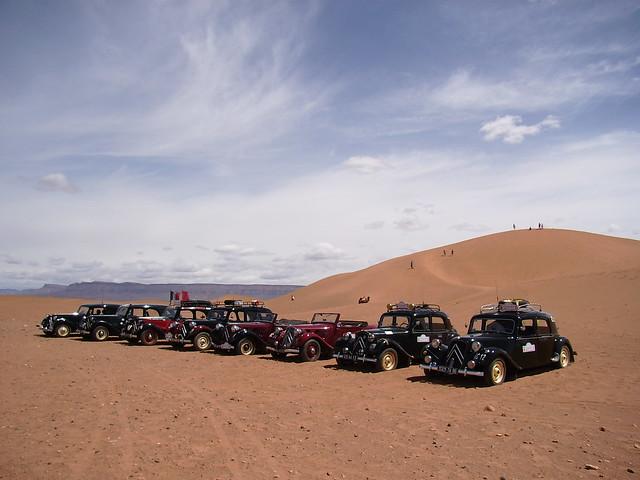 Tracbar in the desert