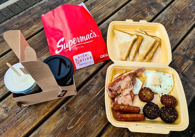Supermac's Irish Breakfast