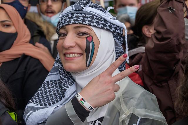 National Demonstration for Palestine, London, UK