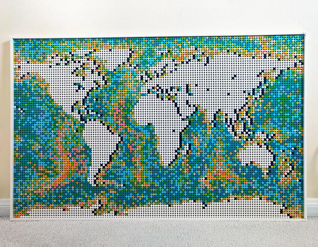 LEGO Art World Map (31203)
