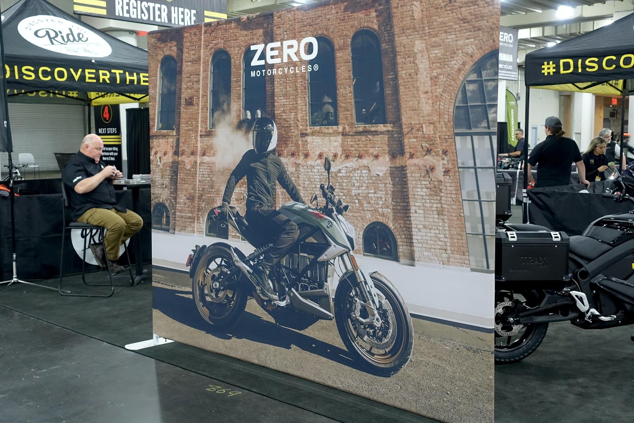 Zero SR/F Tradeshow Display