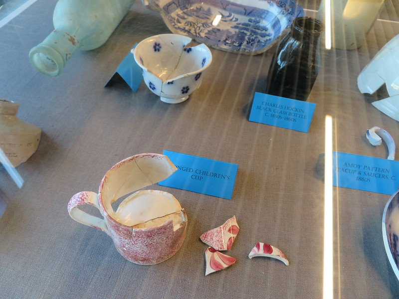 Sponged childrens cup, Through the Shop Window exhibition