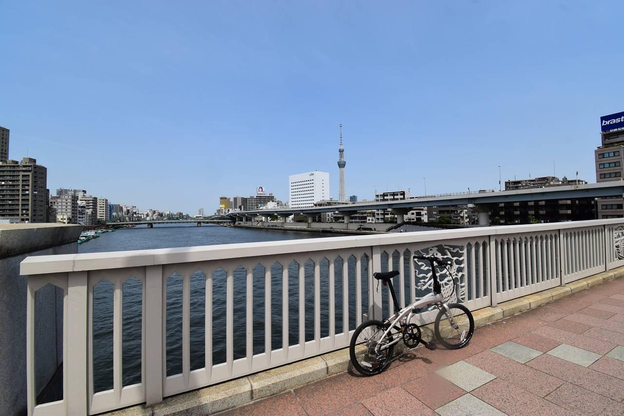 【自転車】スカイツリーと東京タワー のんびりサイクリング