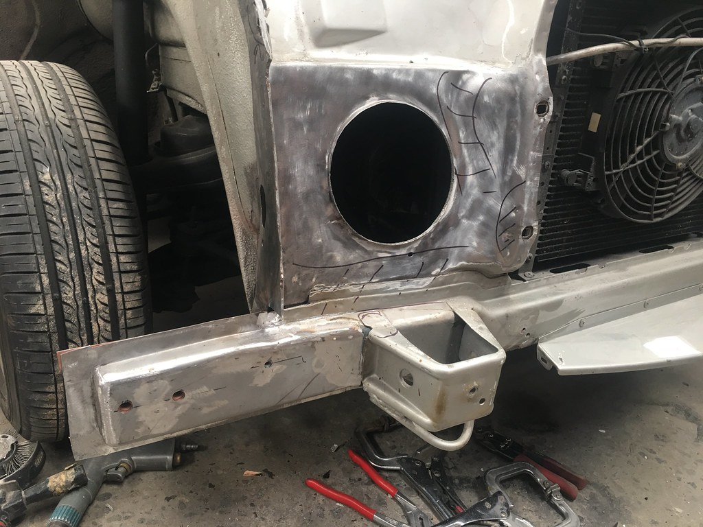 W111 Kangaroo damage