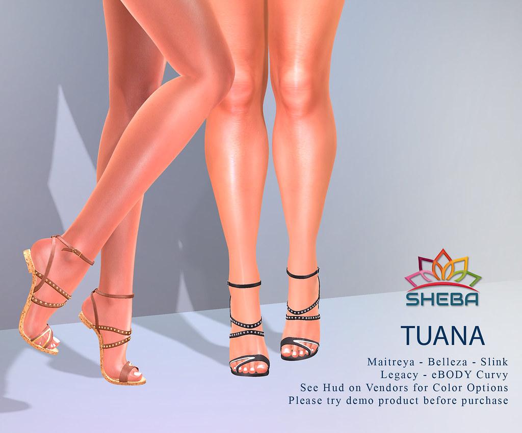 [Sheba] Tuana Sandals