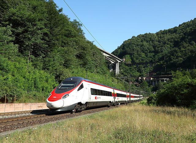 ETR610,  Biaschina,  9 July 2015