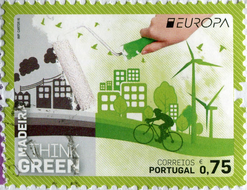 Sello. Serie Europa de Portugal del 2016