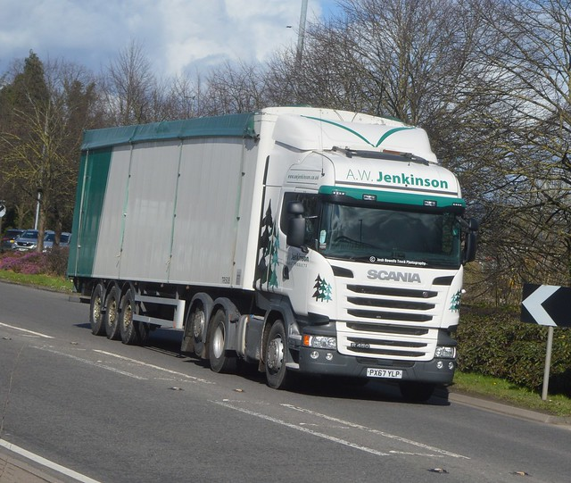 A W Jenkinson PX67 YLP At Welshpool