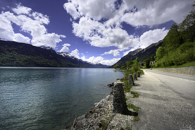 Lake Brienz - Road to Interlaken - Bern - Switzerland