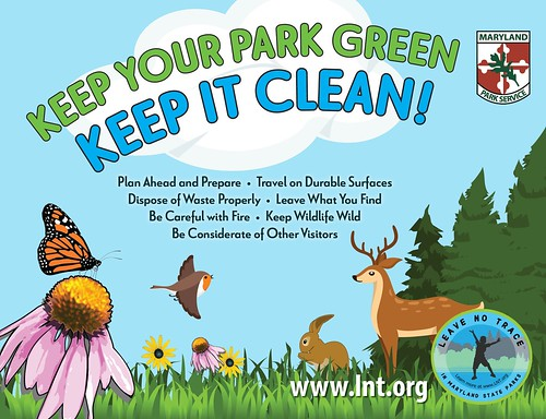 Image of Poster -- Keep Your Park Green, Keep it Clean!