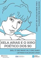 Exposició 'Letras Galegas 2021: Xela Arias e o xiro poético dos 90'