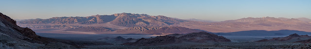 Southern Death Valley morning panorama