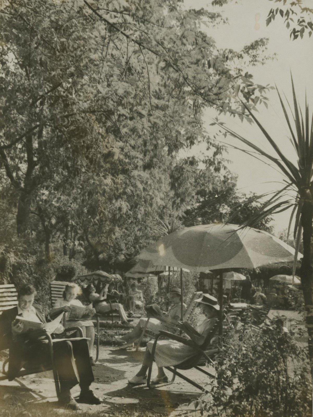 1940. В ЦПКиО перед войной