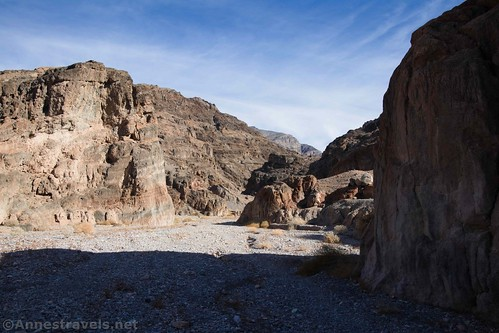 Near the entrance of Fall Canyon, Death Valley National Park, California