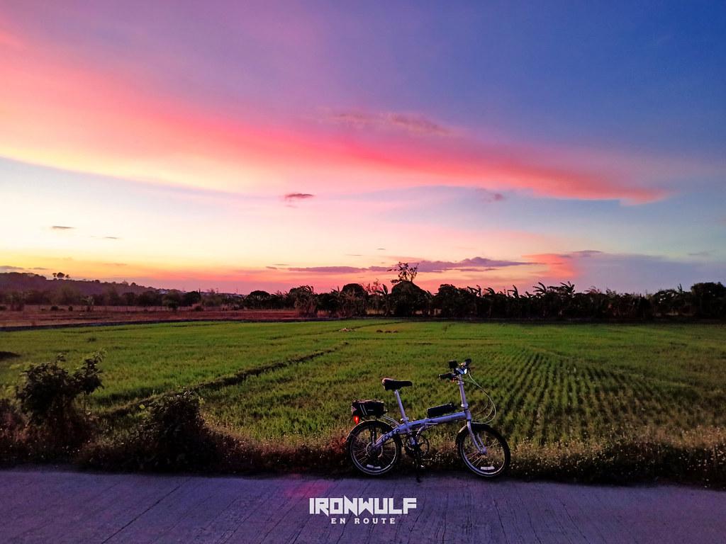Sunsetting at Bukid Road, Lantic, Carmona