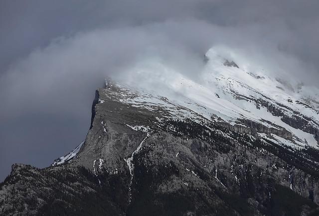 Mt Rundle peaks