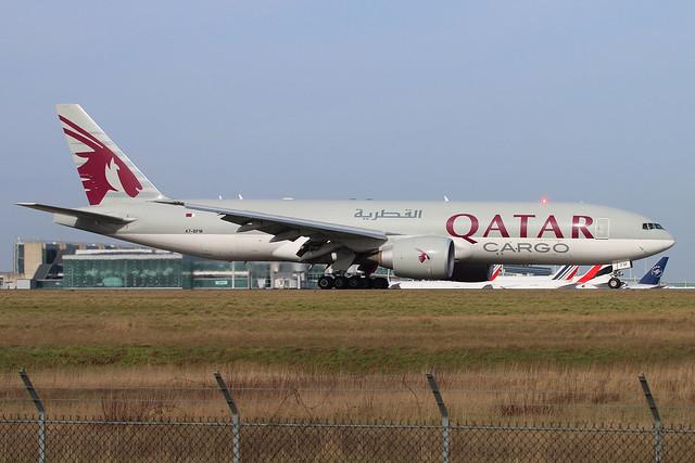 A7-BFM | Boeing 777-FDZ | Qatar Airways Cargo | Paris Roissy - Charles de Gaulle - LFPG