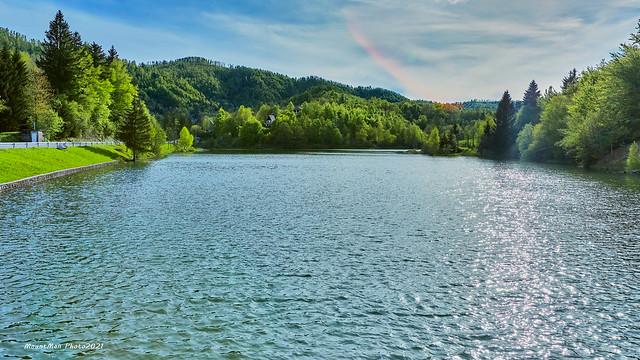 Pogled preko Mrzlovodičkog jezera