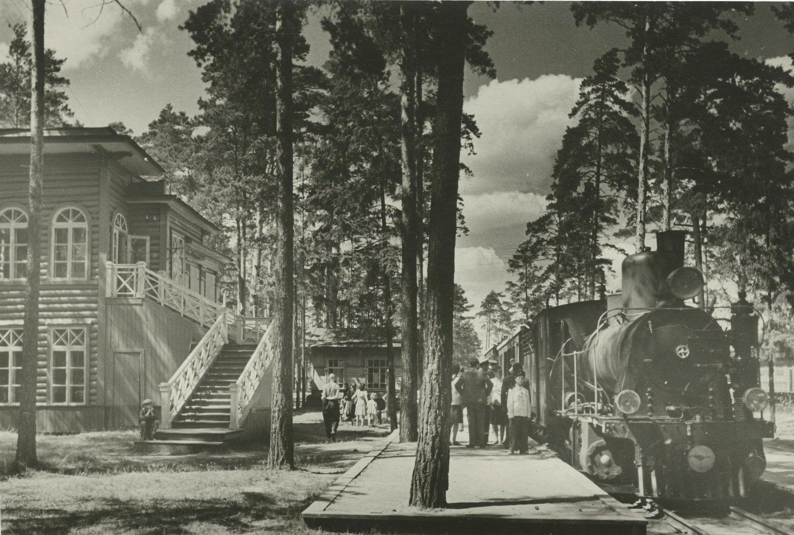 1940. Детская железная дорога