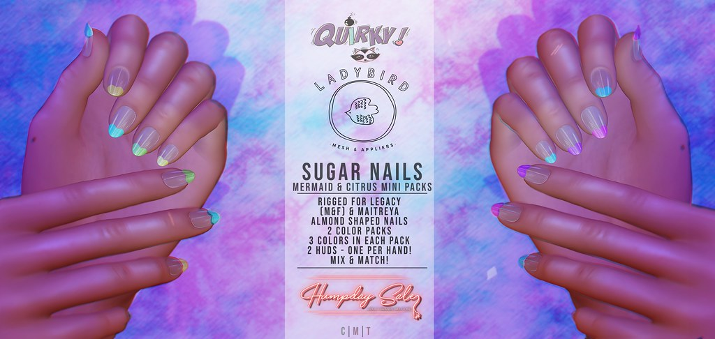 Ladybird. // Sugar Nails Mini-packs for Humpday Sale!
