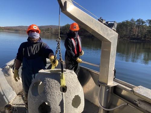Fish Habitat Improvements in Impoundments