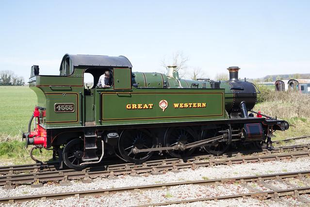 4555 GWR 2-6-2T Small Prairie