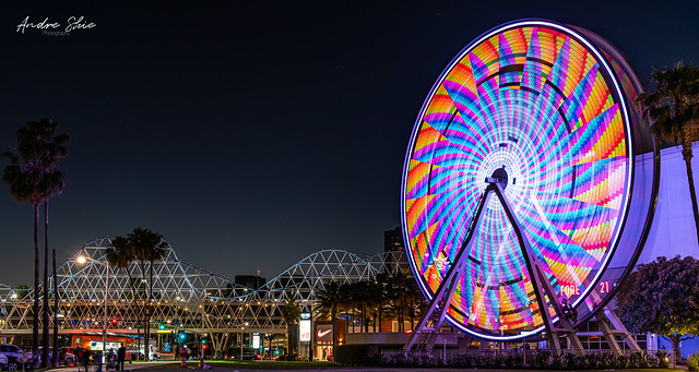 Long Beach Ferris wheel.