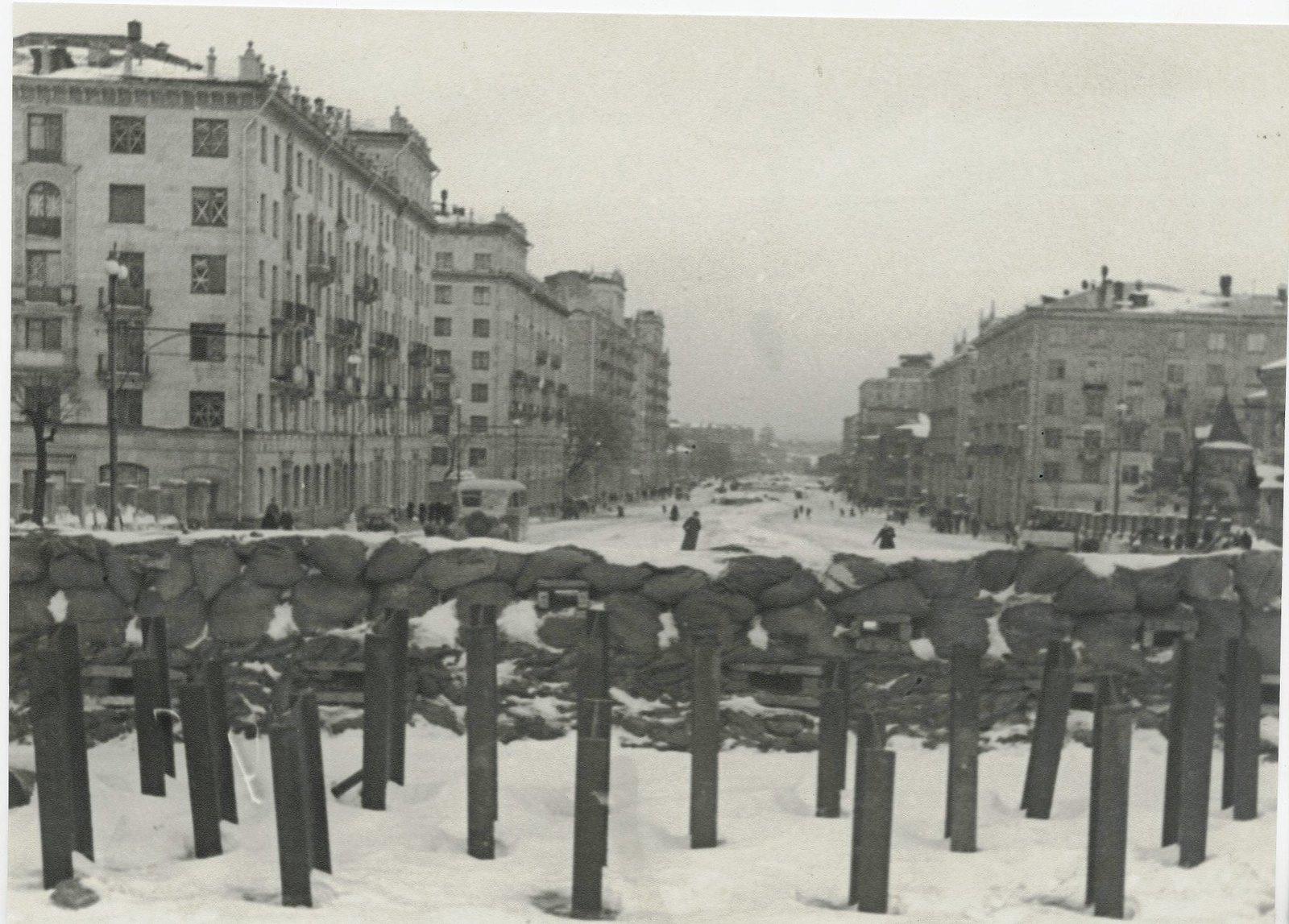1941. Фронтовая Москва