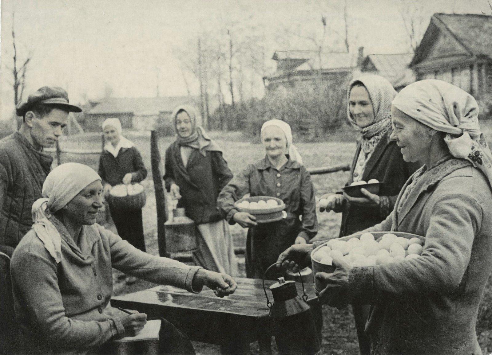 1941. Сельское хозяйство в годы войны для Красной Армии. Все для фронта!