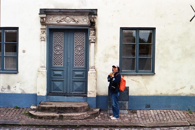 old doors in Visby