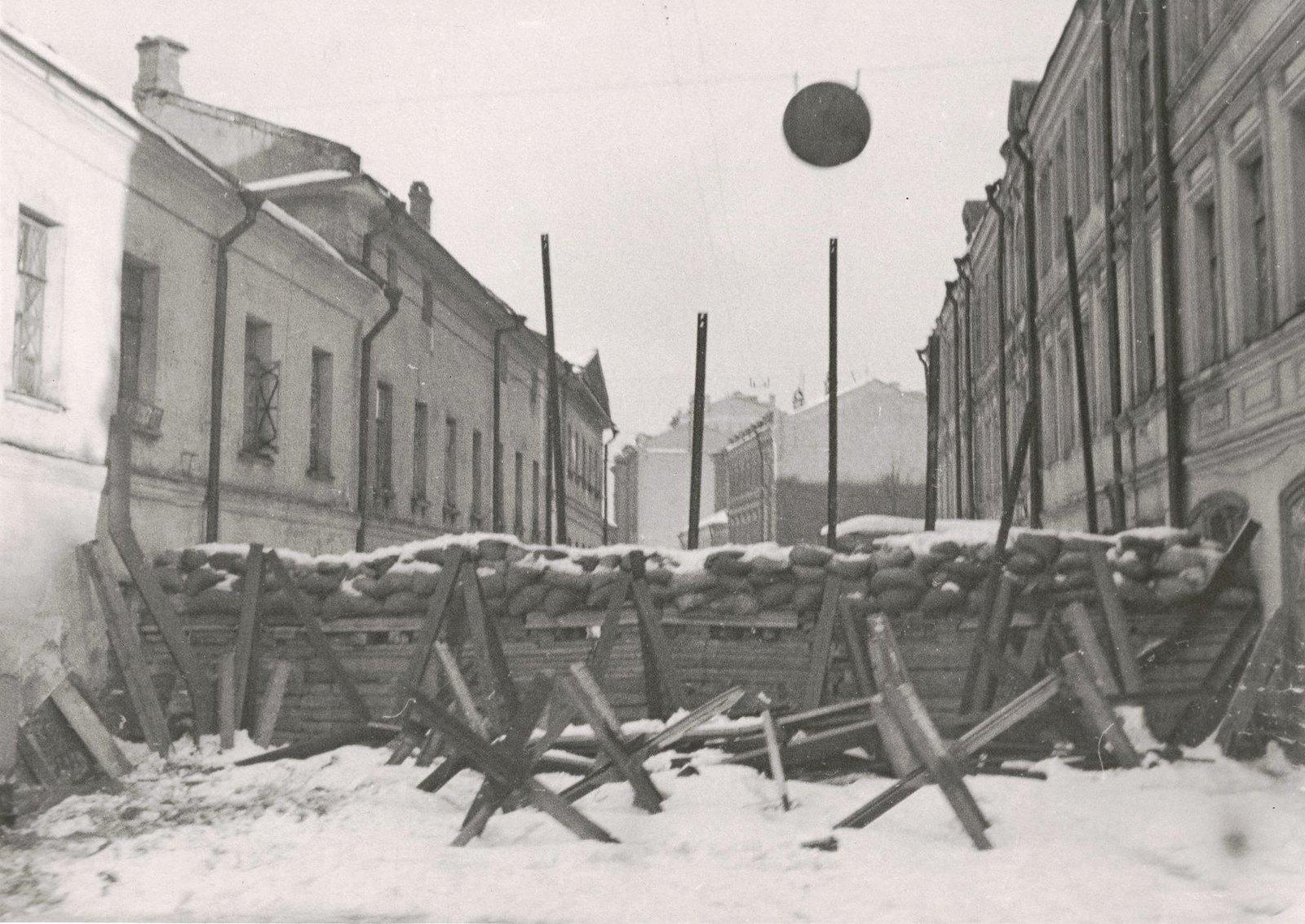 1941. Москва в 1941 г. В переулках Смоленского рынка