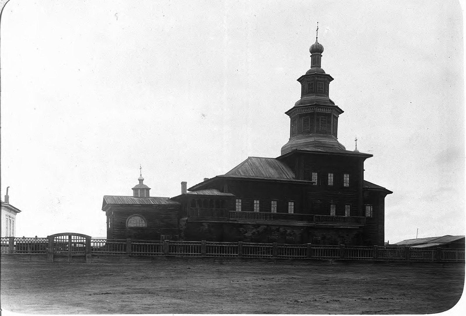 Якутск. Деревянная Ильинская церковь