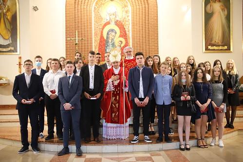 Bierzmowanie w parafii św. Anny w Luszowicach 26.05.2021 r.