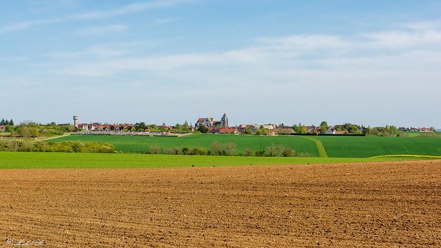 Mon village au printemps.
