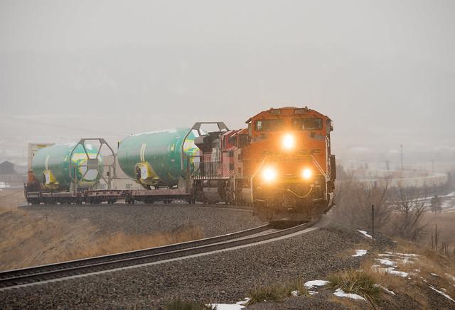 BNSF 8999 Spruce, CO