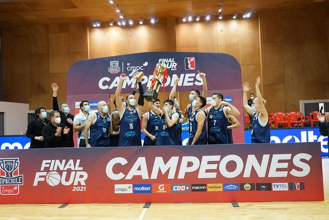 Premiación Campeón Copa Chile