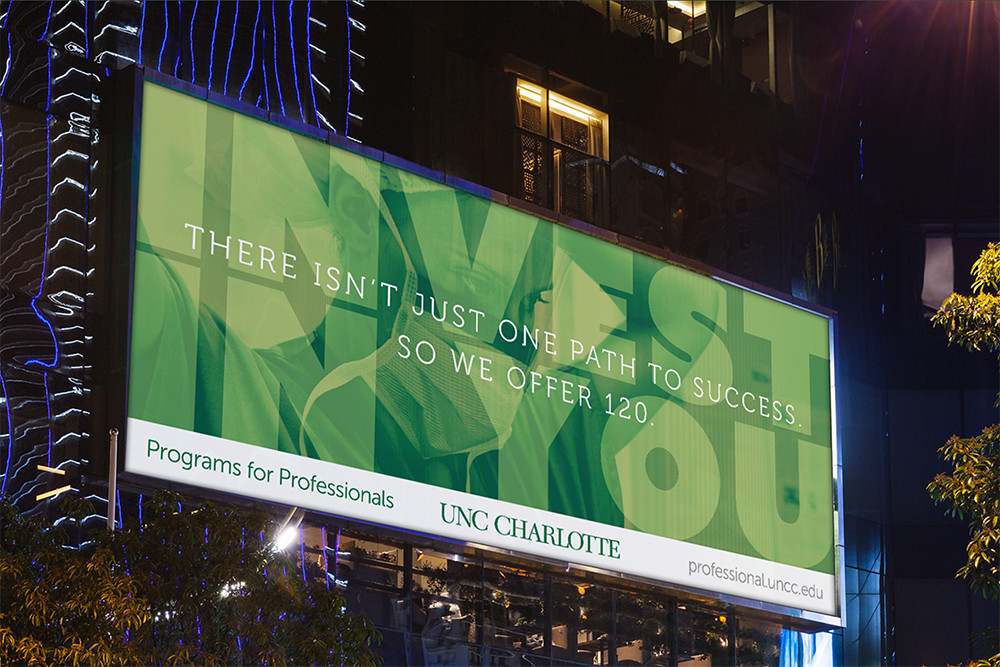 Billboards: Professional Programs Summer Campaign