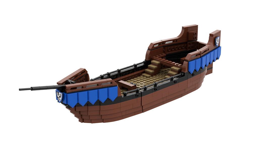 [WIP] Black Falcons Cog Ship MOC by Edge of Bricks