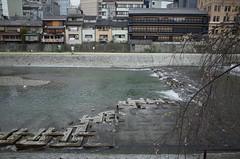 Kamo River, Kyoto, April 2016