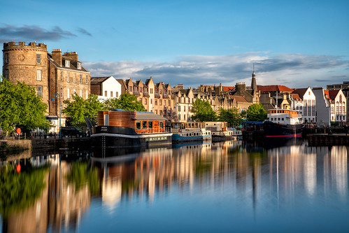 theshore leith edinburgh scotland harbour water river firthofforth