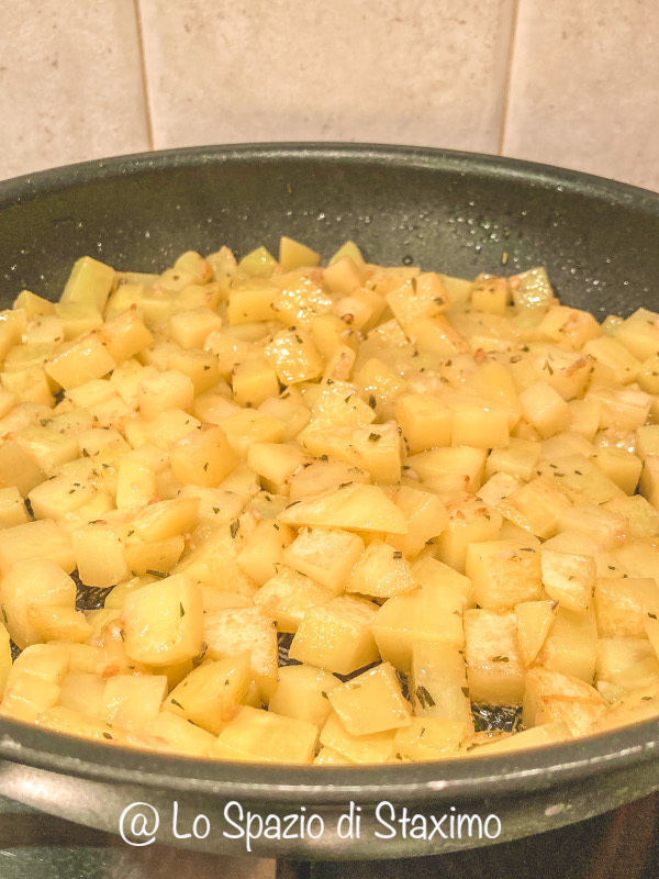Frittata: le patate