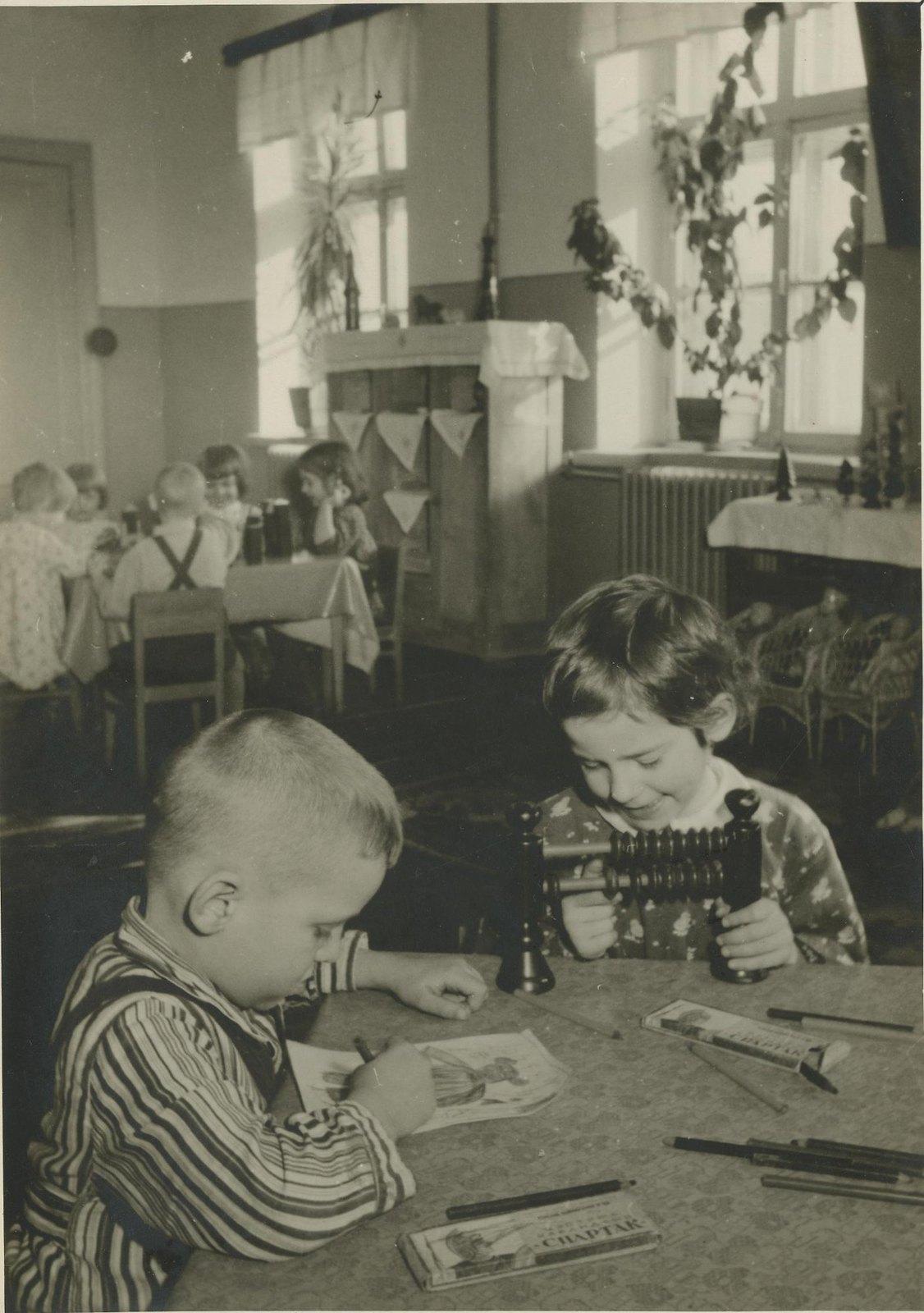 1940. В детском саду