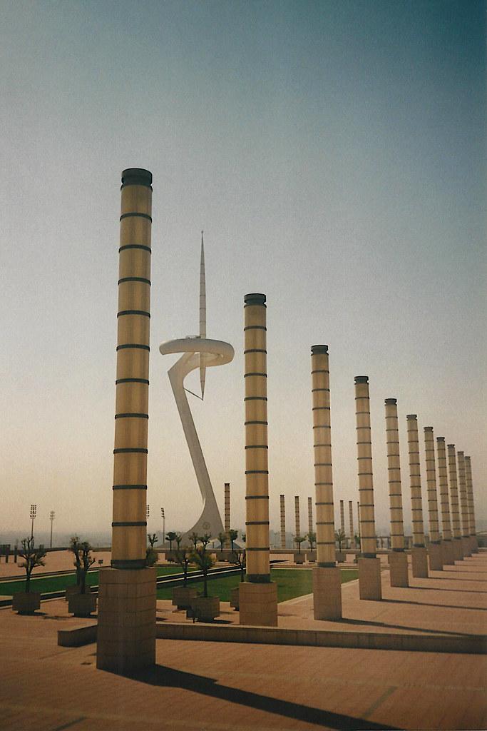 Torre de telecomunicaciones de Montjuïc, 1997