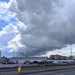 Massive storm clouds over Preston