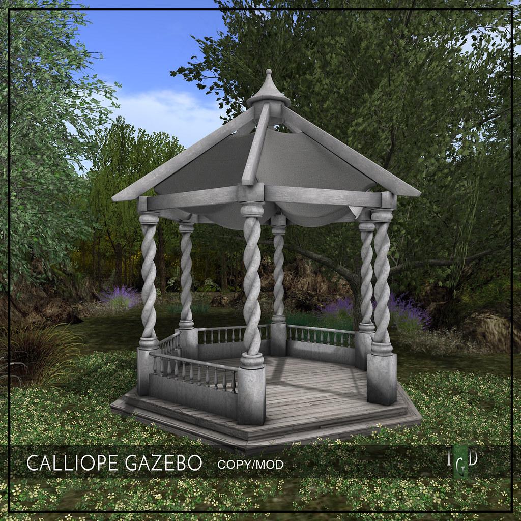 NEW – THE CALLIOPE GAZEBO