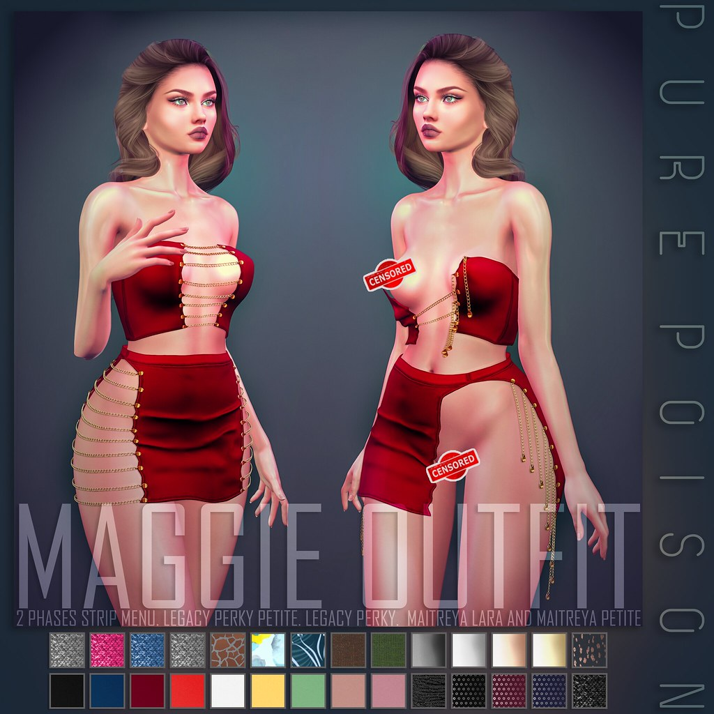 Pure Poison – Maggie Outfit – UBER